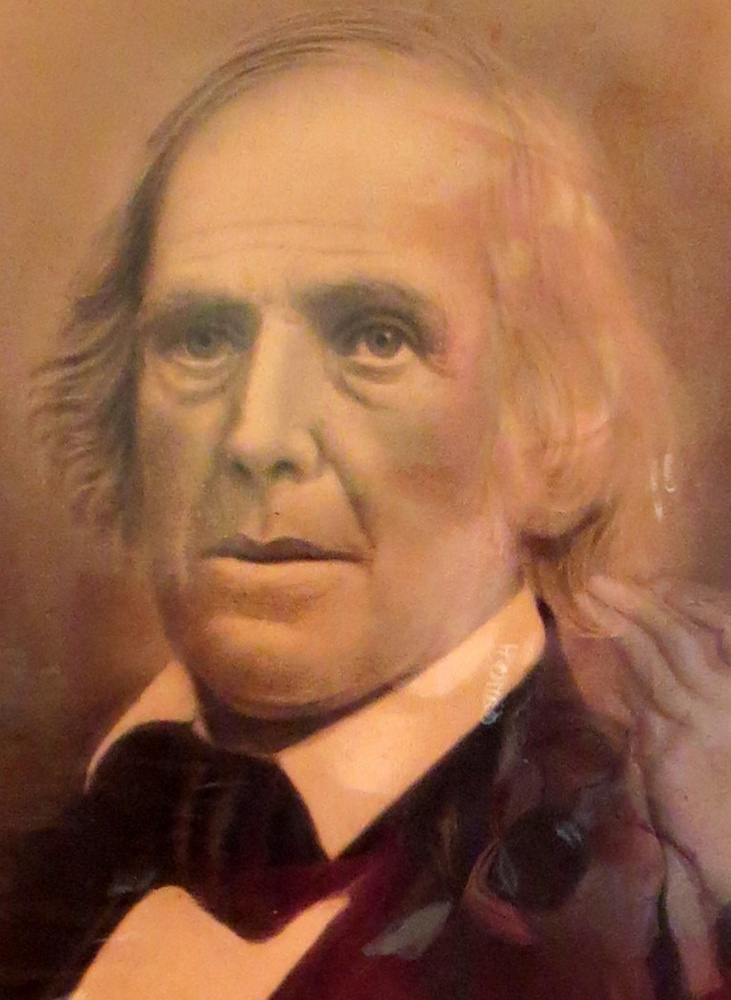 """Rev. David Thurston was the Congregational minister in Winthrop from 1807 to 1851. In 1833 he was a delegate at the founding convention of the American Anti-Slavery Society in Philadelphia and helped draft their """"Declaration of Sentiments."""" He also served as a regional manager of the Underground Railroad in central Maine and spoke often at Abolitionist meetings. His son, Brown Thurston, was a noted publisher in Portland and also was active in the movement."""