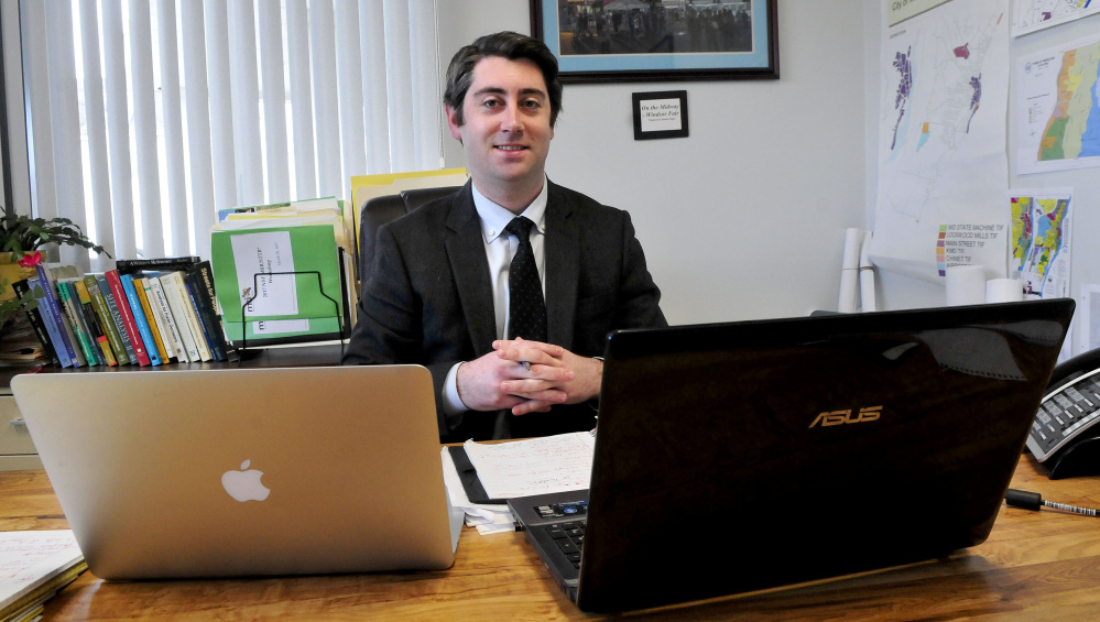 Garvan Donegan of Central Maine Growth Council becomes
