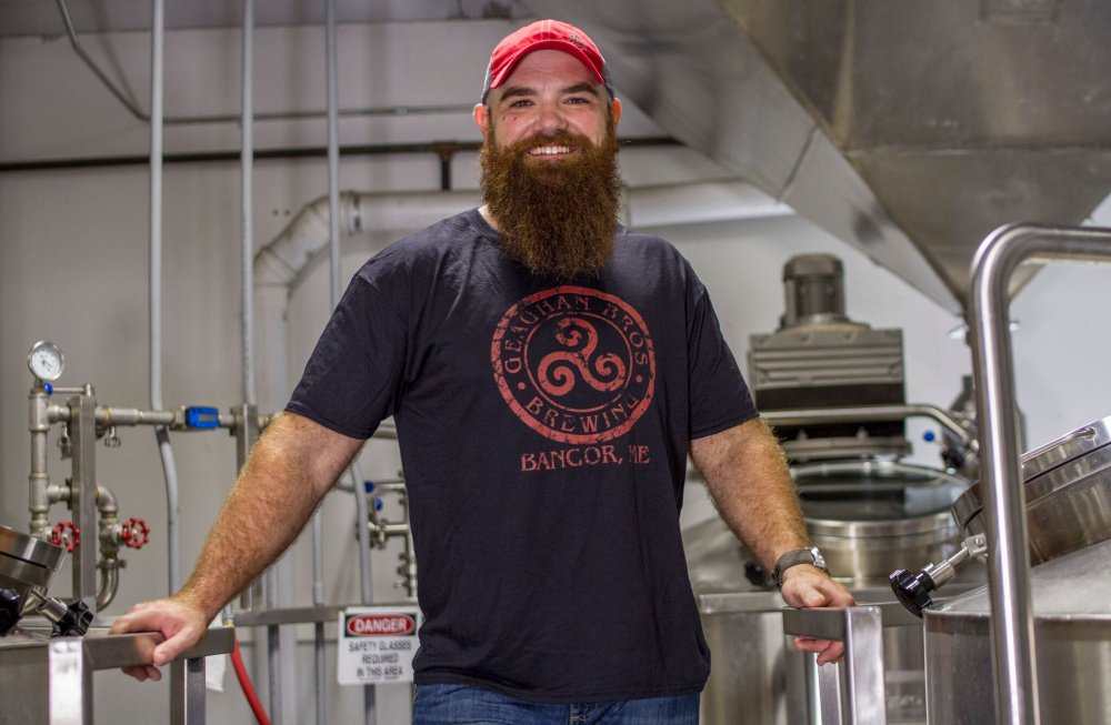 """Brewmaster Andy Geaghan says Geaghan Bros. Brewing Co. in Bangor is """"supported by one of the best crews that could be assembled."""""""