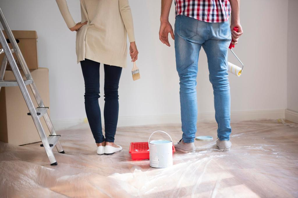 A paint job can be a satisfying refresher for your home.