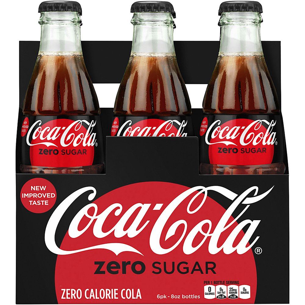 """Coca-Cola Zero Sugar, with its tweaked """"blend of flavors,"""" will start hitting the shelves in August."""