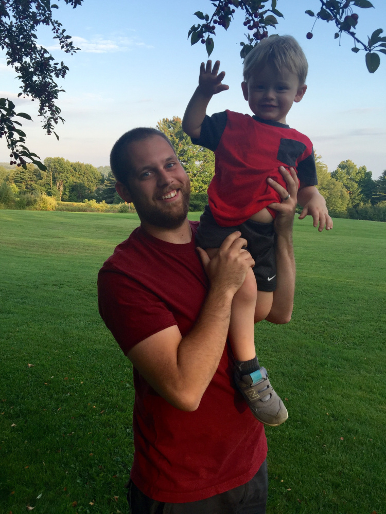 Nicholas Workman attended Worcester Polytechnic Institute and graduated with a degree in biomedical engineering and mechanical engineering. He's with Flynn, his 2 year- old son.