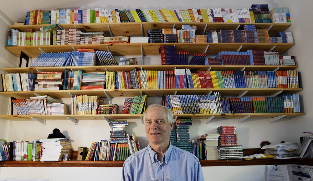 Andrew Clements has written more than 80 picture books and middle-grade novels over the past 30 years.