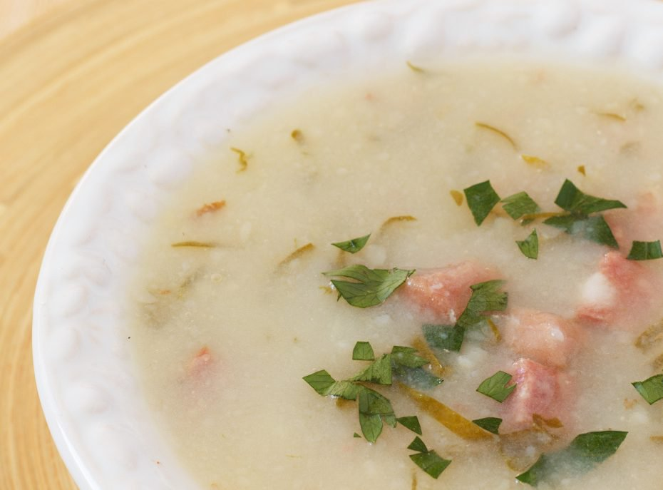 Caldo verde makes a hearty, filling and inexpensive meal.