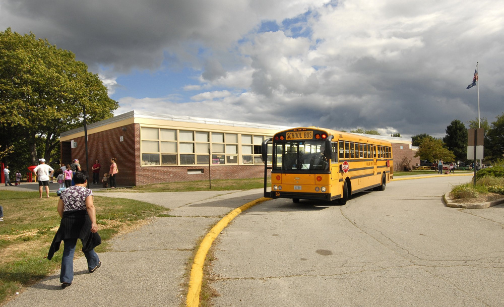 Some parents fear that Presumpscot Elementary School, photographed in 2010, could be closed as the Portland school district tries to cut costs.
