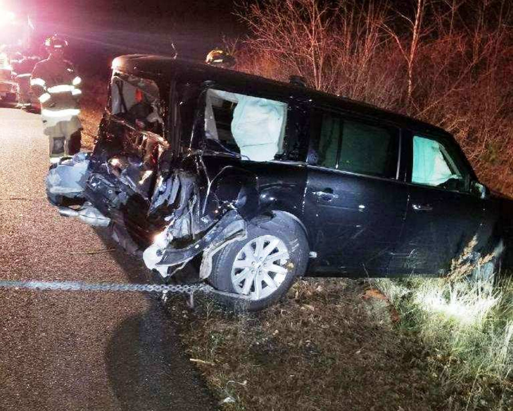 Maine State Police said Richard Charest, of Winthrop, an employee of Knowlton and Hewins Funeral Home in Winthrop, died Monday night when the transport van he was driving was hit from behind on U.S. Route 202 in Greene.