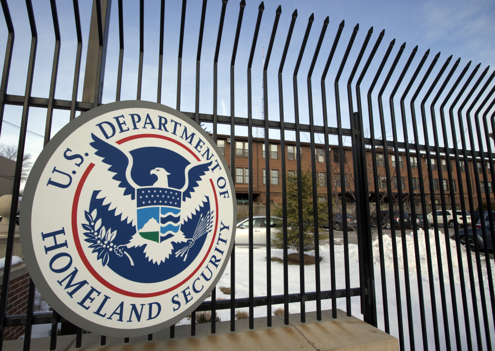 The Homeland Security Department headquarters is seen in February 2015 in northwest Washington, D.C. Agents from U.S. Immigration and Customs Enforcement were aided by Skowhegan police in the search of a Rowe Road residence Tuesday morning in Skowhegan. While an agency spokesman and Skowhegan police Chief David Bucknam acknowledged the agents' presence, neither would comment on the reason for it.