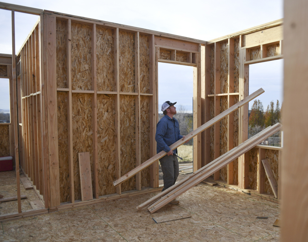 The National Association of Home Builders/Wells Fargo released its December index of builder sentiment Monday.