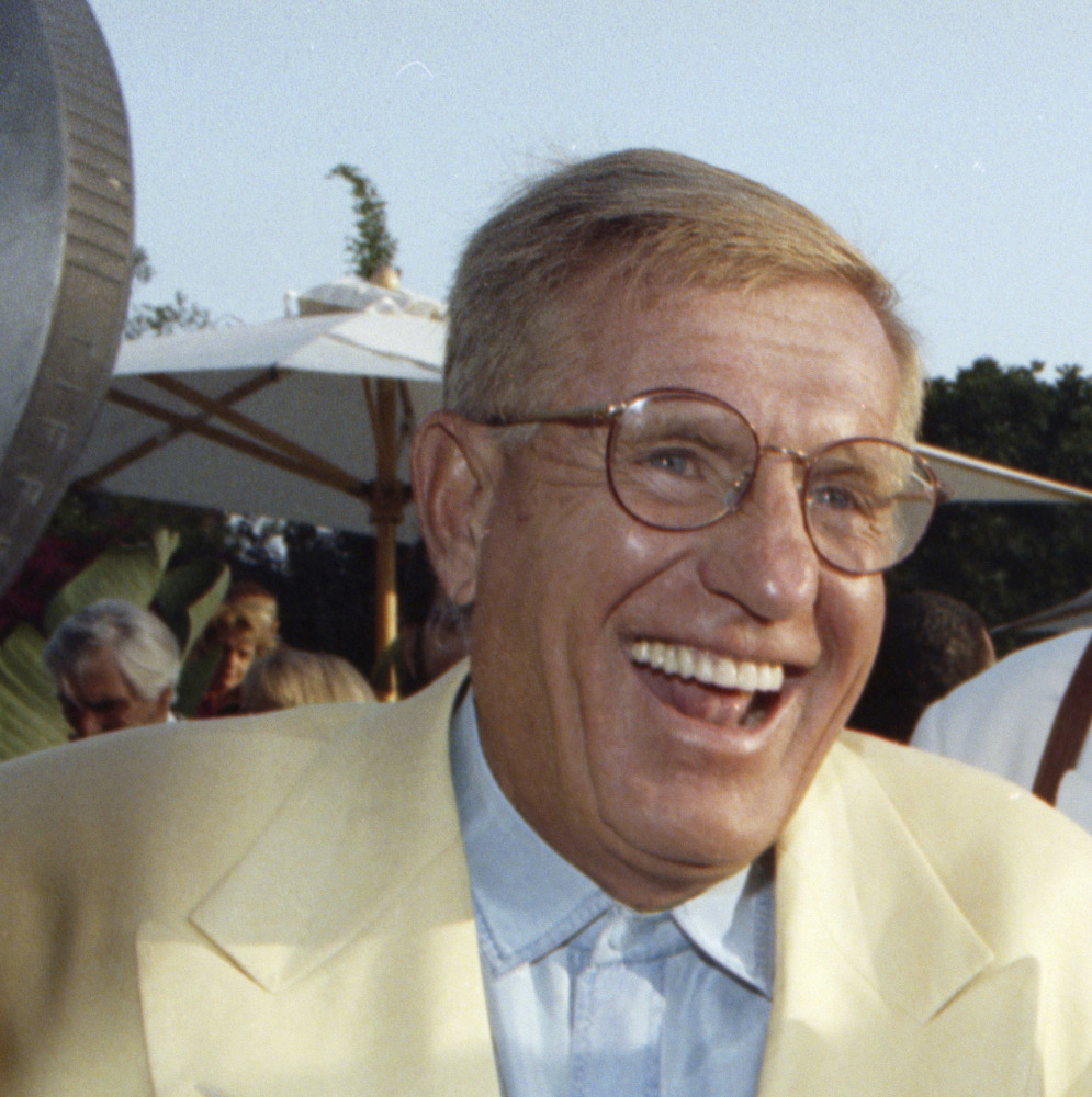 Jerry Van Dyke, shown at a party in Los Angeles in 1992, died Friday at his ranch in Arkansas at age 86.