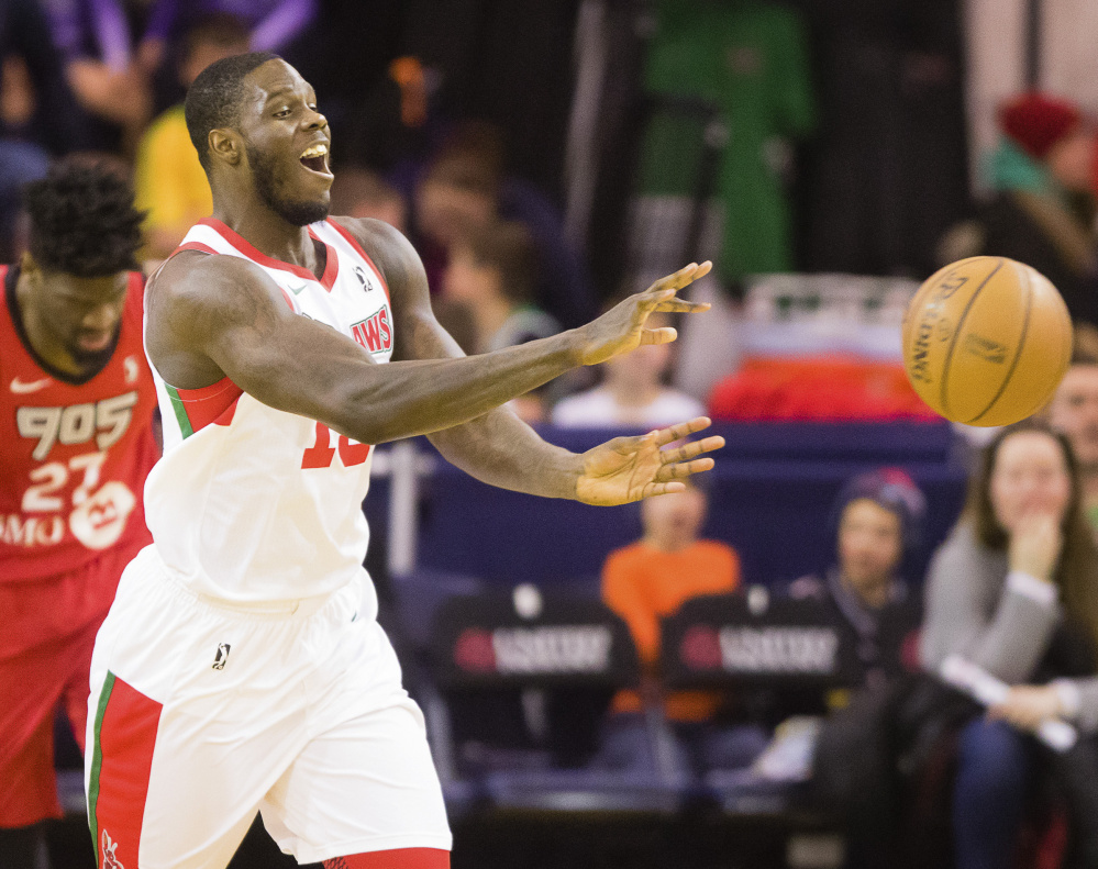 Anthony Bennett has played for four NBA teams since he was drafted No. 1 overall by Cleveland in 2013, after one college season at UNLV. Staff photo by Carl D. Walsh