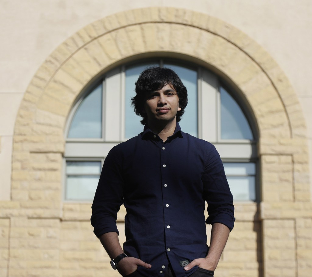 Student Pranav Rajpurkar helped devise the Stanford Question Answering Dataset used in a competition among researcher institutions and tech firms.