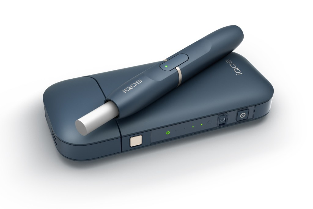 """This undated image provided by Philip Morris in January 2018 shows the company's iQOS product. U.S. government experts have rejected a proposal from Philip Morris International to sell its """"heat-not-burn"""" tobacco device as a lower-risk alternative to cigarettes that reduces disease. But the panel of advisers to the Food and Drug Administration endorsed a lesser claim that the product reduces exposure to harmful chemicals in cigarettes. The mixed review suggests Philip Morris will be able to market its device to U.S. smokers, but on limited terms.  (Philip Morris via AP)"""