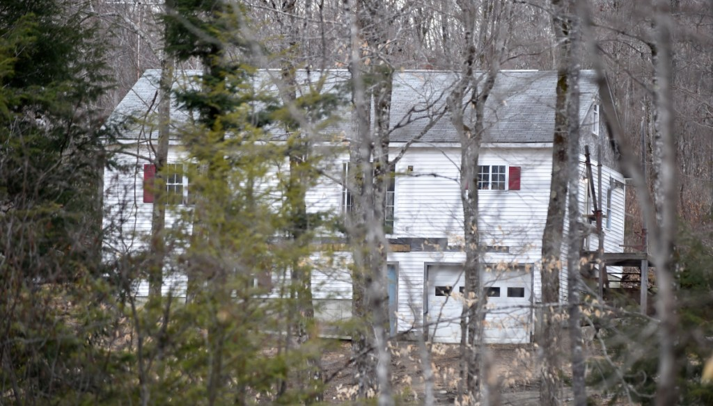 Maine State Police investigators blocked off McNally Road on April 8, 2016, in St. Albans as they investigated the death of Randy Erving, 53. Jeremy Erving, 24, the nephew of Randy Erving, is charged with murder in the death of his uncle.