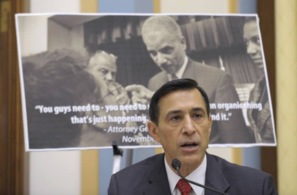 Rep. Darrel Issa, R-Calif., had an estimated net worth of at least $283 million in 2016.