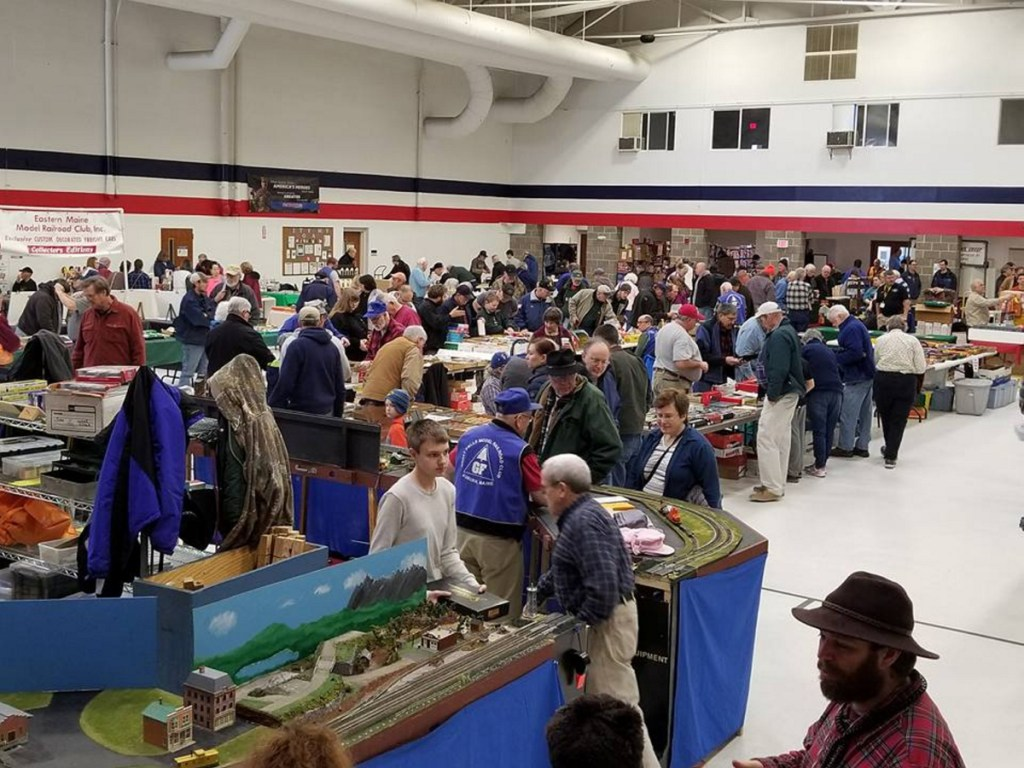 Hundreds of spectators visited the 32nd Whitefield Lions Club Model Railroad and Dollhouse show Feb. 17 at the Augusta State Armory. Whitefield Lion Steven Laundrie, who organizes the event, said at least 40 exhibitors were in attendance and hundreds of spectators visited the show.