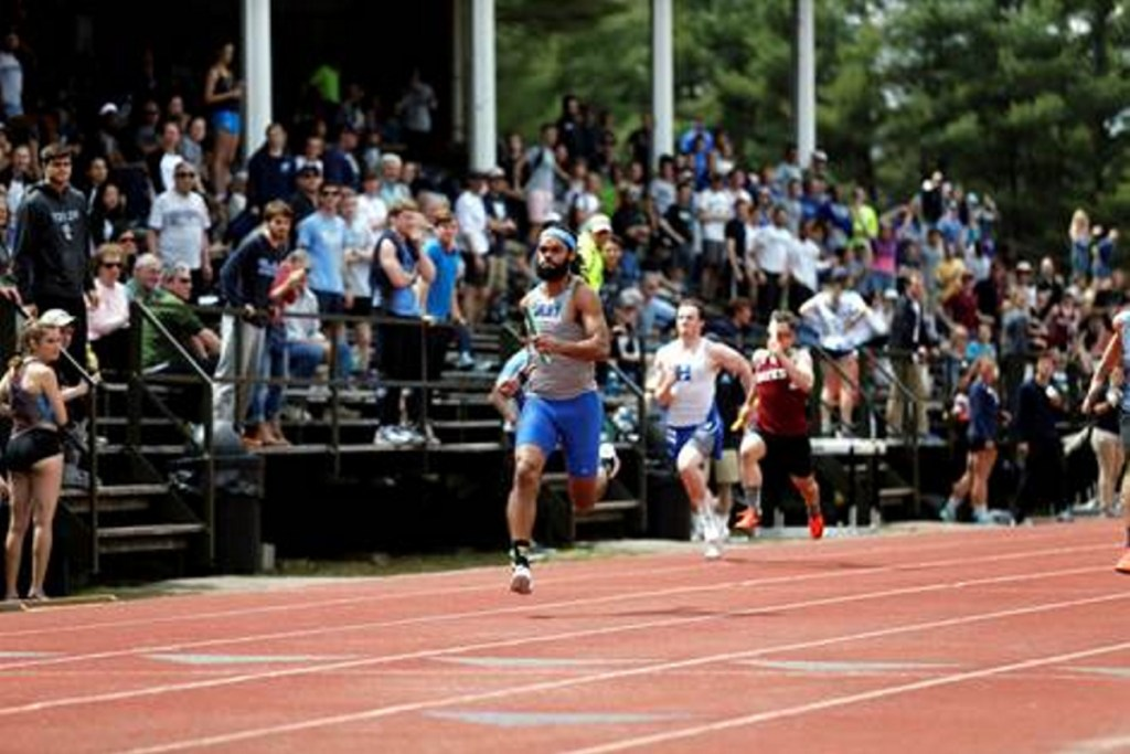 Marcques Houston will play an integral role on the Colby men's track and field this season.