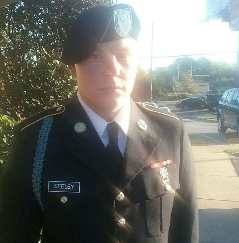 Austin Seeley, 19, of Farmington, left his Army post at Fort Campbell, Kentucky, and was advised by his father to turn himself in at the Franklin County Sheriff's Office. Anthony Seeley, Austin's father, a combat veteran himself, said his son has been hazed and put in unnecessarily dangerous situations by his team leader.