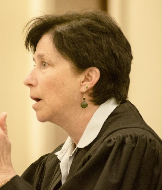 """Superior Court Justice Michaela Murphy heard arguments Friday on the ranked-choice voting law and whether the system can be used in the primary elections. She planned to rule on the legal issues within """"a matter of days."""""""