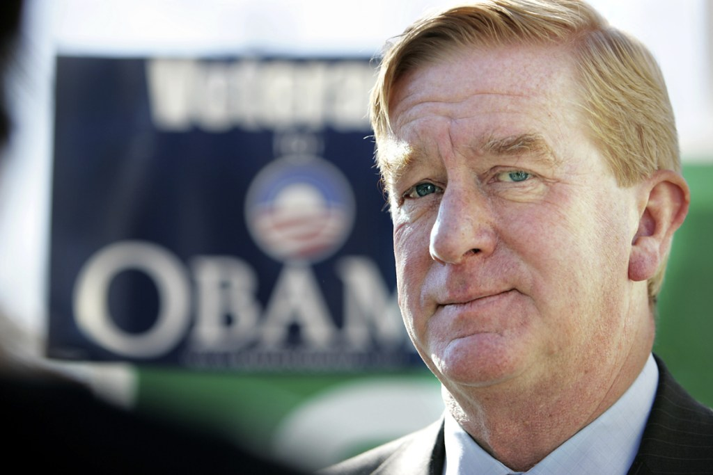 Former Massachusetts Gov. William Weld, seen in 2008, says pot legalization comes down to the states' constitutional right to do what they want.