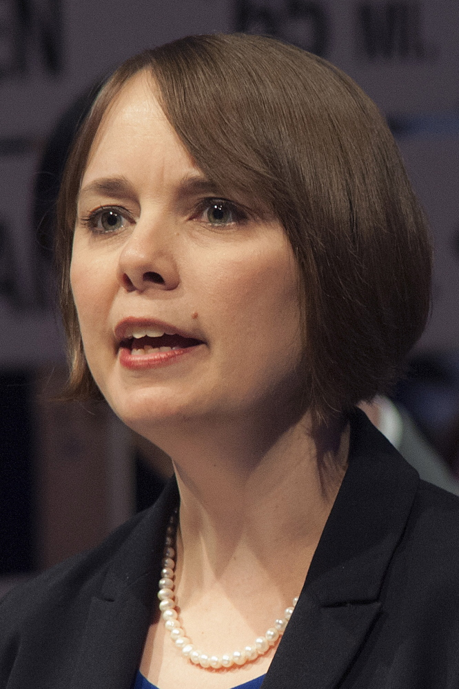State Sen. Shenna Bellows, D-Manchester, sponsored a bill to prevent some internet service providers from selling users' private data.