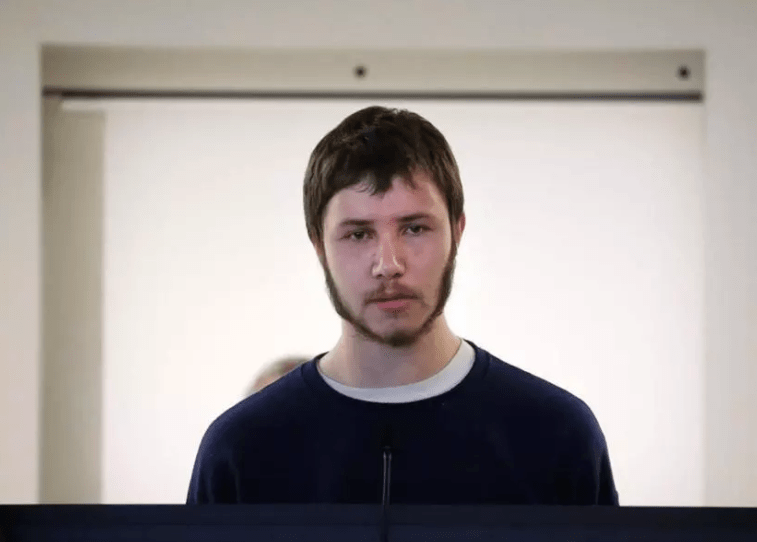 Orion Krause was arraigned in Middlesex County Superior Court in Massachusetts on Wednesday in the deaths of four people, including his mother and grandparents.