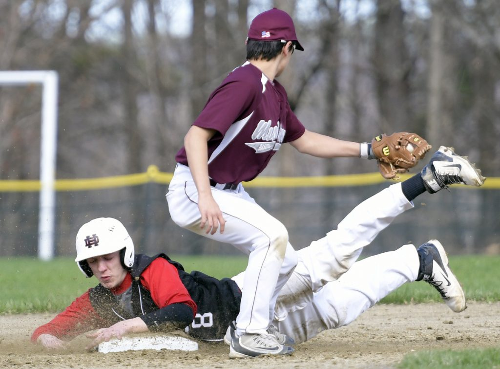 HallDale scores early and often in onesided win over Monmouth  CentralMainecom