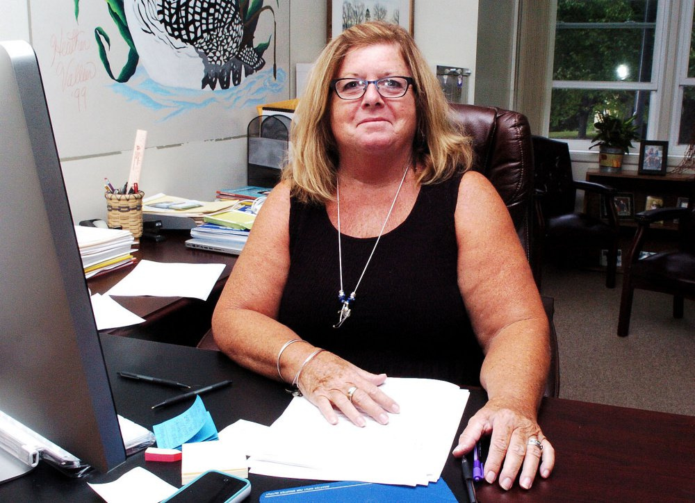 Bonnie Levesque, the SAD 59 superintendent in Madison, thanked voters for turning out to support the school system and noted that the district had been able to keep costs down by collaborating with neighboring districts in Anson and Bingham.