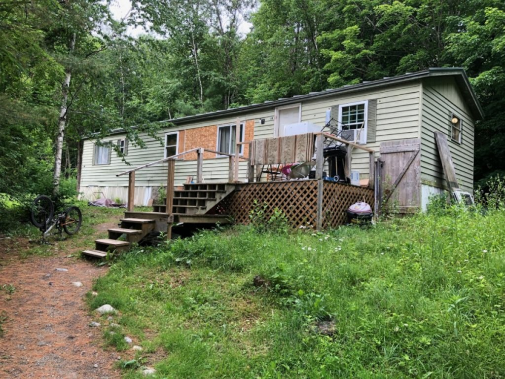 Police said a man was shot in the head Sunday with a pellet gun at this home at 44 Joyce St. in Skowhegan. The victim's father, Jade Goodridge, said Tuesday that the projectile actually was a BB, not a pellet.