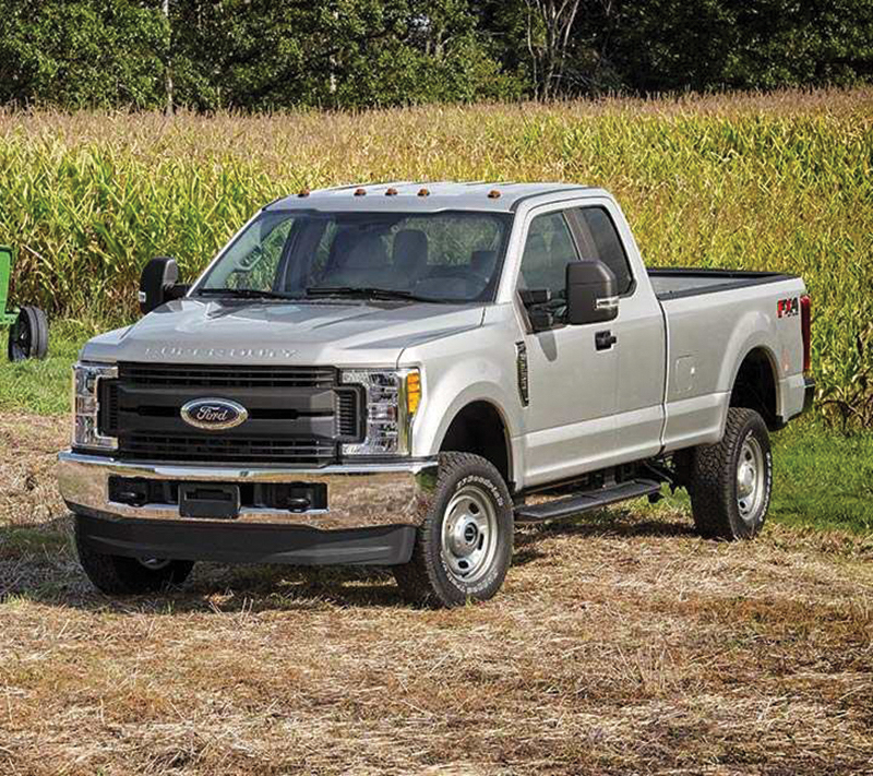 The 2018 Ford F-Series Super Duty.
