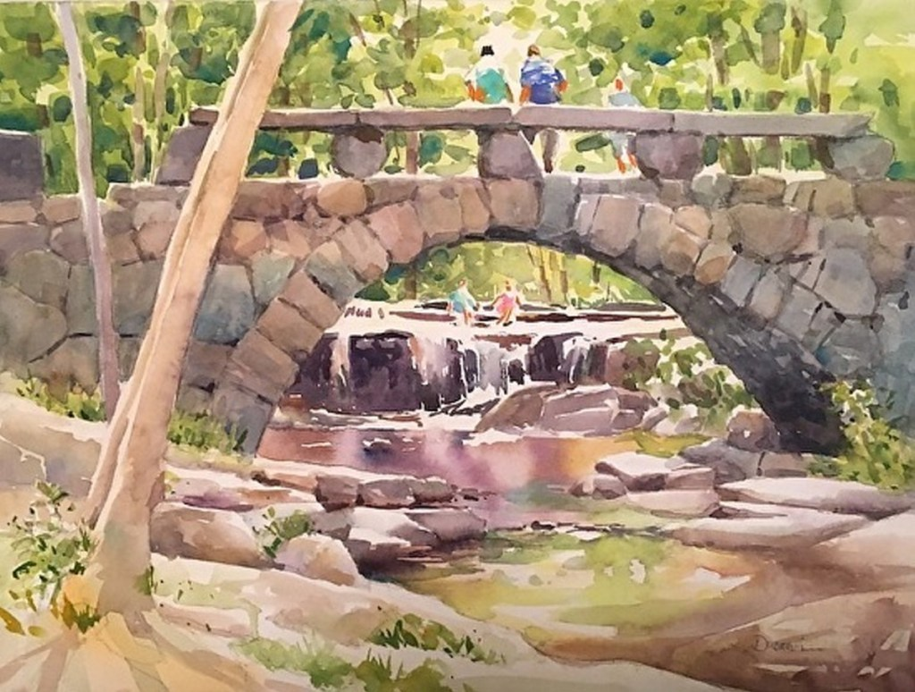 Watercolor painting will be the focus of a workshop lead by Diane Dubreuil on Sept 29 at The Harlow at 100 Water St. in Hallowell.