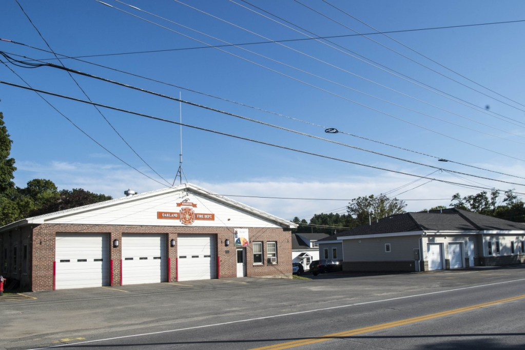 The Oakland Town Council and budget advisory committee approved plans for a new fire station and a price to build it, which will now go to voters on Election Day, Nov. 6. Once the new fire station is built, the old one, pictured here Friday and built in 1953, will be demolished.