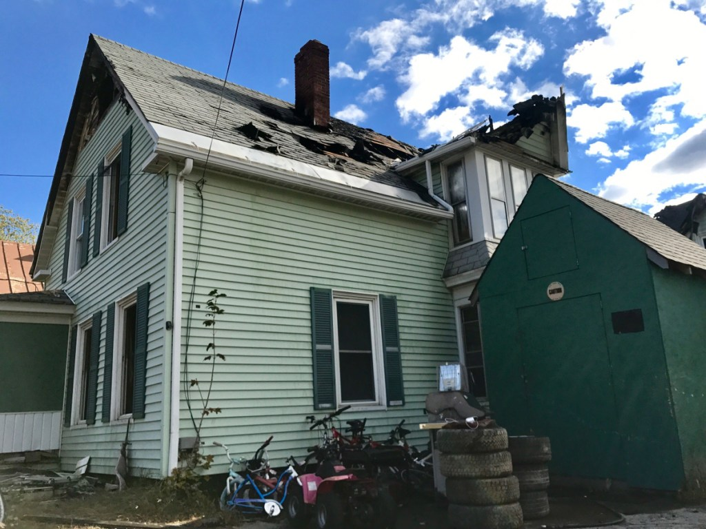 A fire at 16 Winter St. in Fairfield destroyed the duplex early Saturday morning.