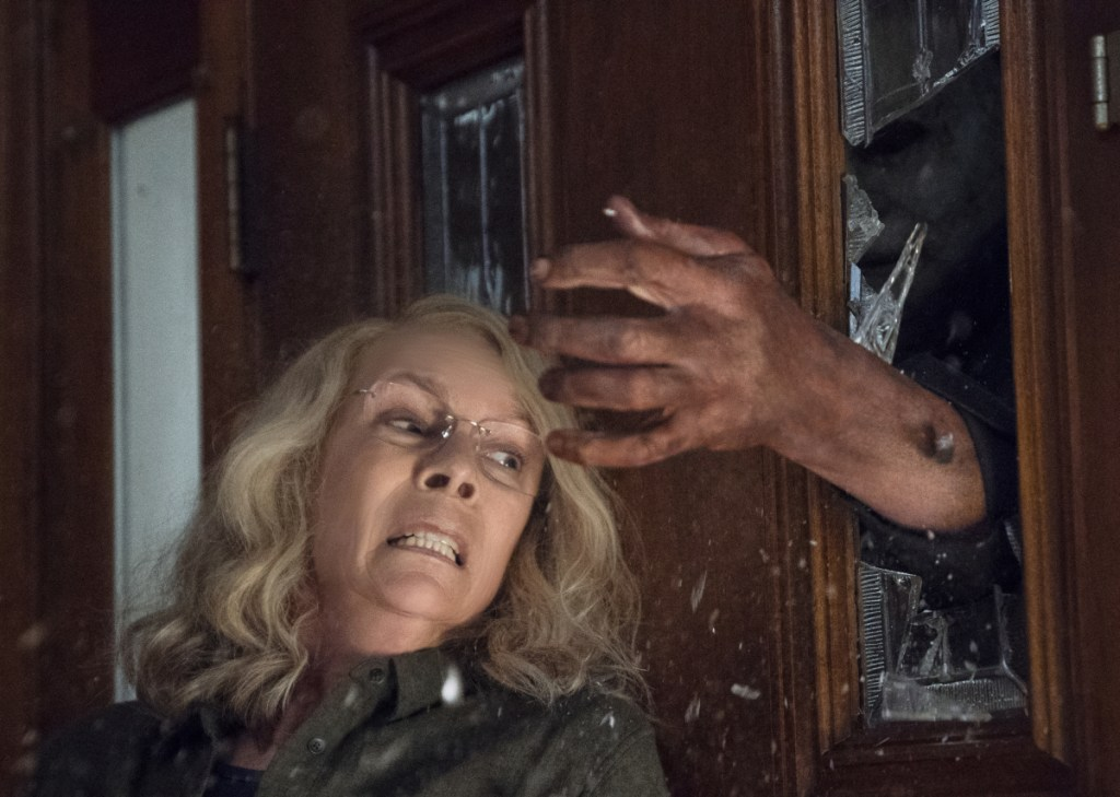 """Jamie Lee Curtis stars in the film """"Halloween, """" which had the second-highest horror opening of all time, behind last year's """"It."""""""