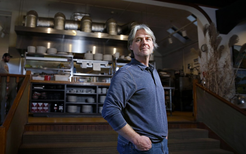 """""""We keep having the same conversation; it grows tiring after a while just to be struggling to find help in the kitchen,"""" says Matt Chappell, owner of Gather restaurant in Yarmouth."""