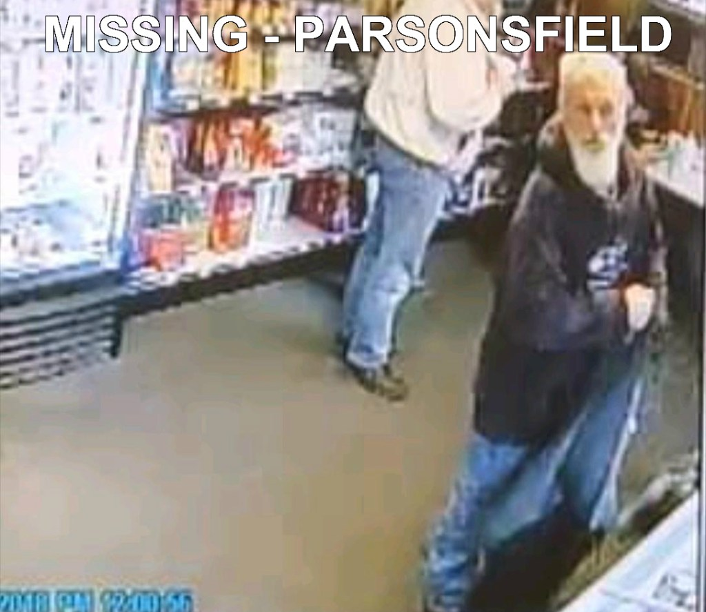 This photo of Todd Pierce was taken at K&D Variety in West Newfield between 9 a.m. and noon on Monday. Pierce, of Parsonsfield, has been missing since Monday afternoon.