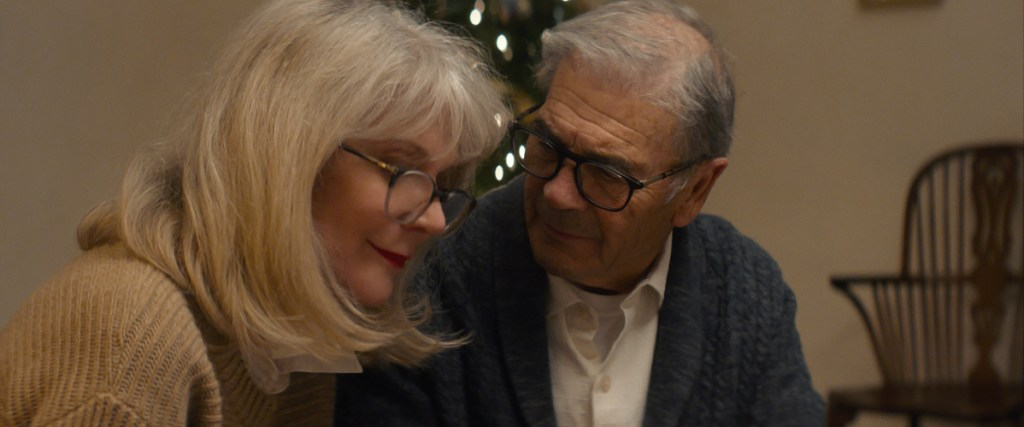 "WTH_STILLS_PULL.00000300_R   Blythe Danner (left) stars as ""Ruth"" and Robert Forster (right) stars as ""Bert"" in Elizabeth Chomko's WHAT THEY HAD, a Bleecker Street release.   Credit: Bleecker Street"