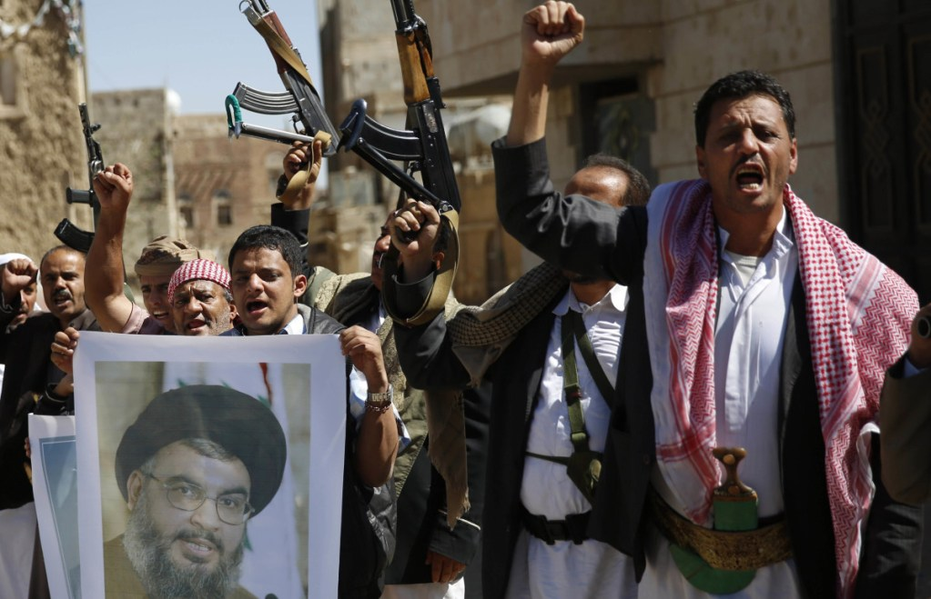The Saudi-led coalition has battled the Houthis, above, since 2015, but they are difficult to defeat.
