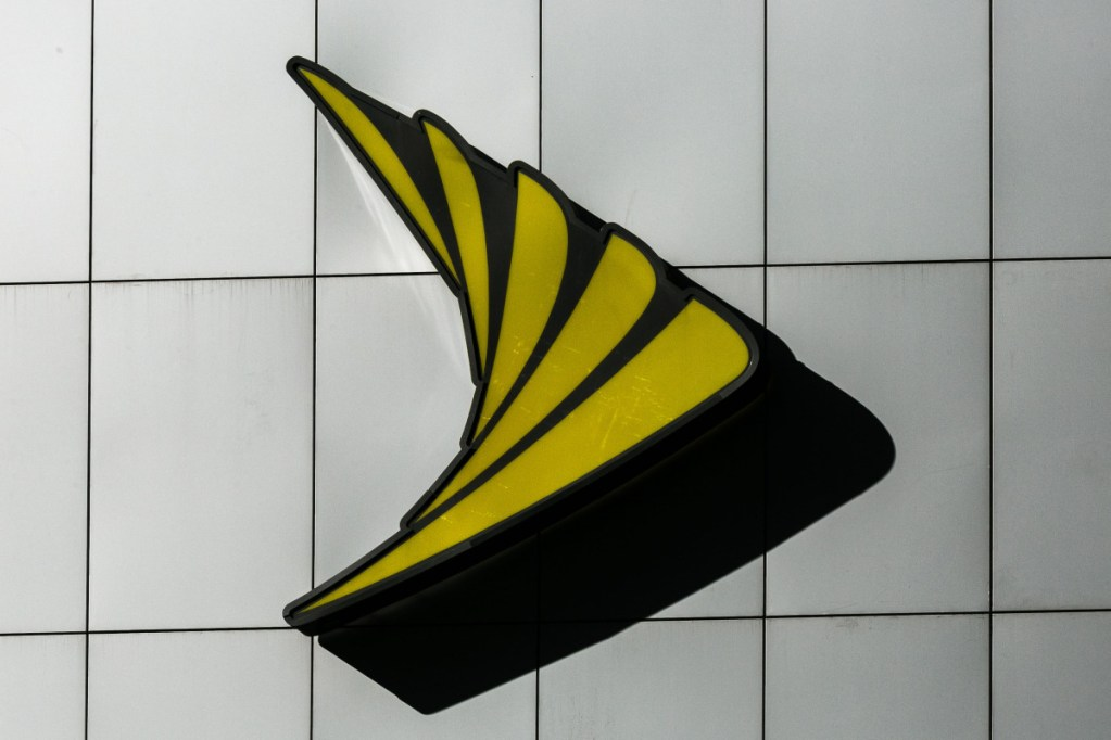 The Sprint logo. If Sprint has been slowing Skype, as a study suggests, it would appear that net neutrality may be becoming a thing of the past.