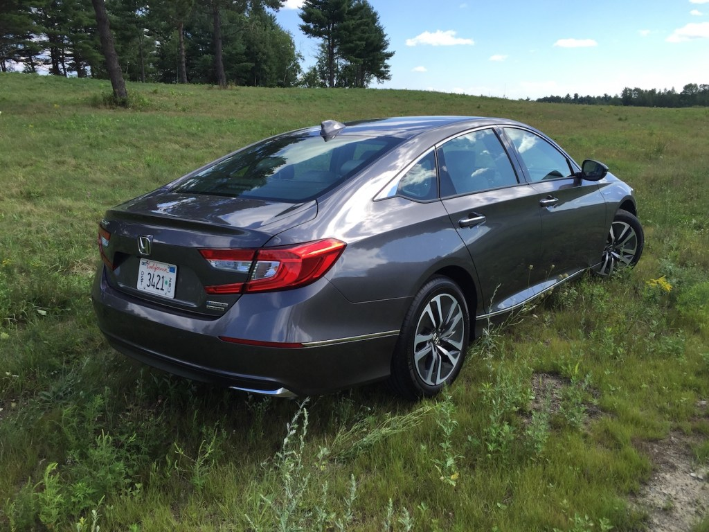 """Buyers will find that the Accord Hybrid remains true to the chassis dynamics that make Accord owners happy."" (Photo by Tim Plouff)"