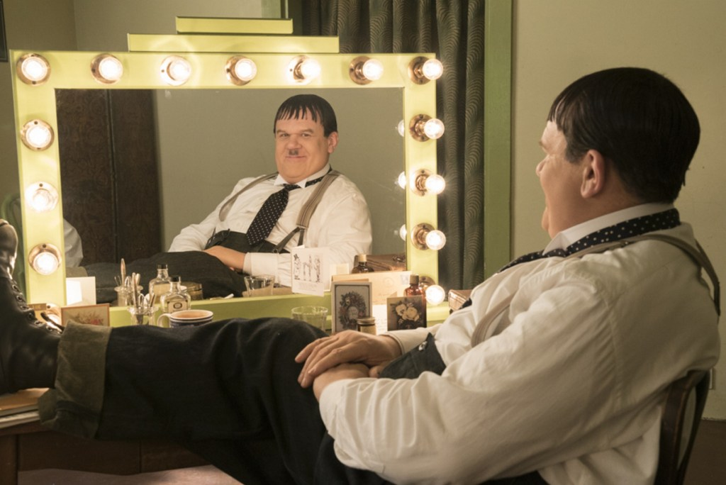 "John C. Reilly in a scene from ""Stan & Ollie."""