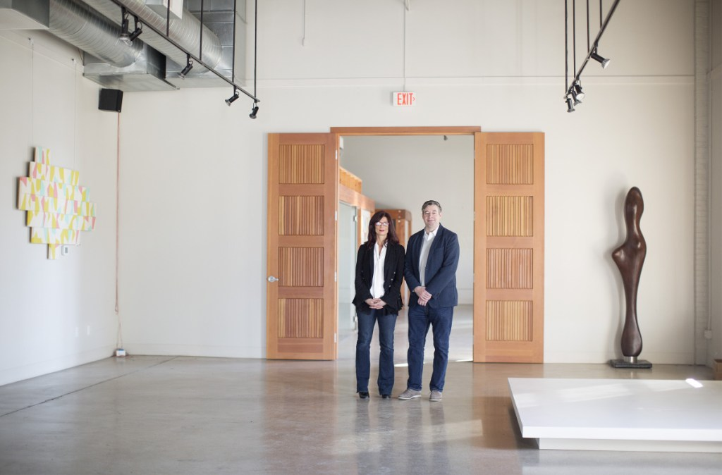 Portland artists Kelley Lehr and John Danos will work with two other Portland art icons on Cove Street Arts, a space offering galleries and  studios.