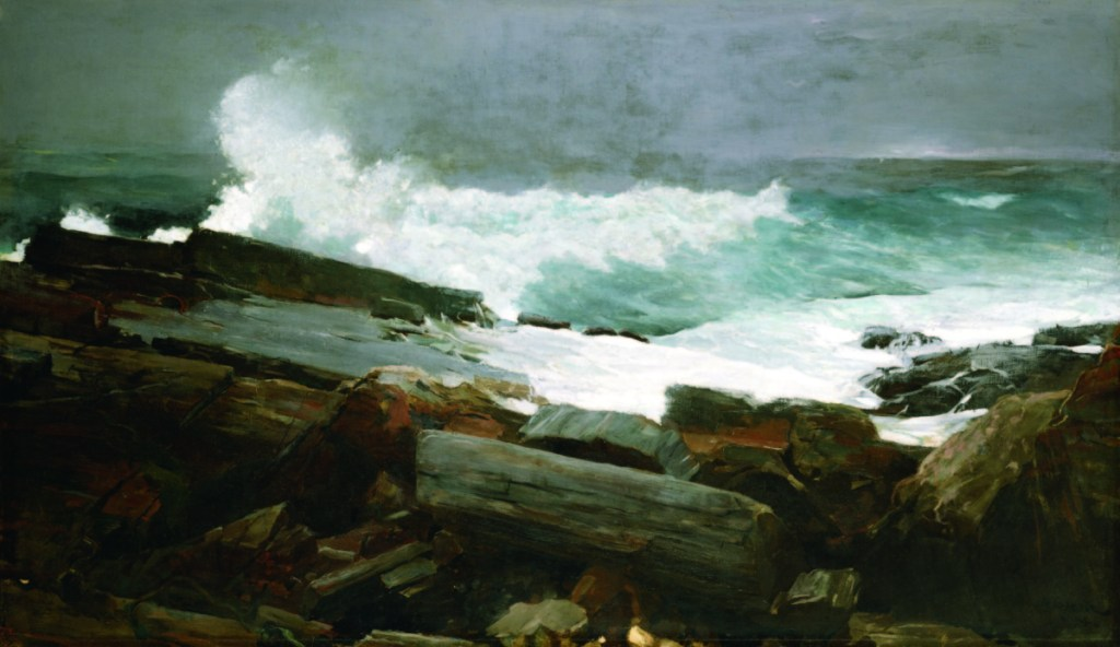 """The Portland Museum of Art and the Maine Humanities Council are collaborating on an exhibition that will include 20 objects representing 20 Maine stories, which might include, for example, Winslow Homer's """"Weatherbeaten,"""" an oil on canvas, 28 by 48 inches, shown at the Portland Museum of Art. Bequest of Charles Shipman Payson."""
