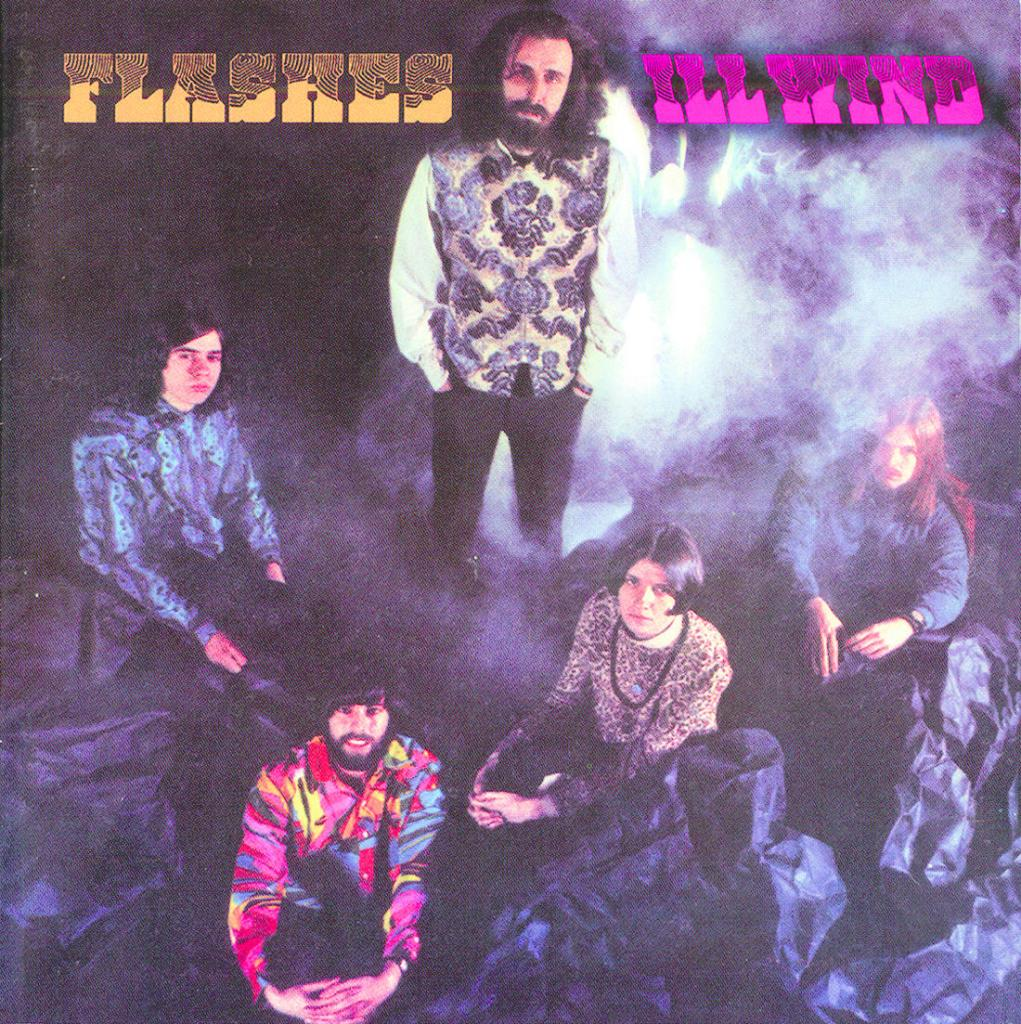 """David Kinsman and his bandmates in Ill Wind were on the brink of making it big in the 1960s, opening for acts like The Who, Fleetwood Mac and Van Morrison. The band's only album, """"Flashes,"""" recently was reissued by a British label."""