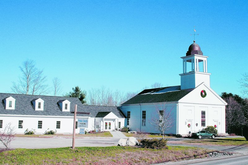 The present home of the First Congregational Church of North Yarmouth was built in 1839. The church was organized in 1806.