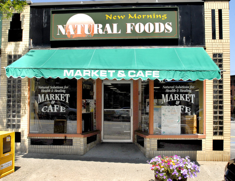 New Morning Natural Foods Market & Cafe in Biddeford offers innovative and exciting lunchtime indulgences without the guilt.