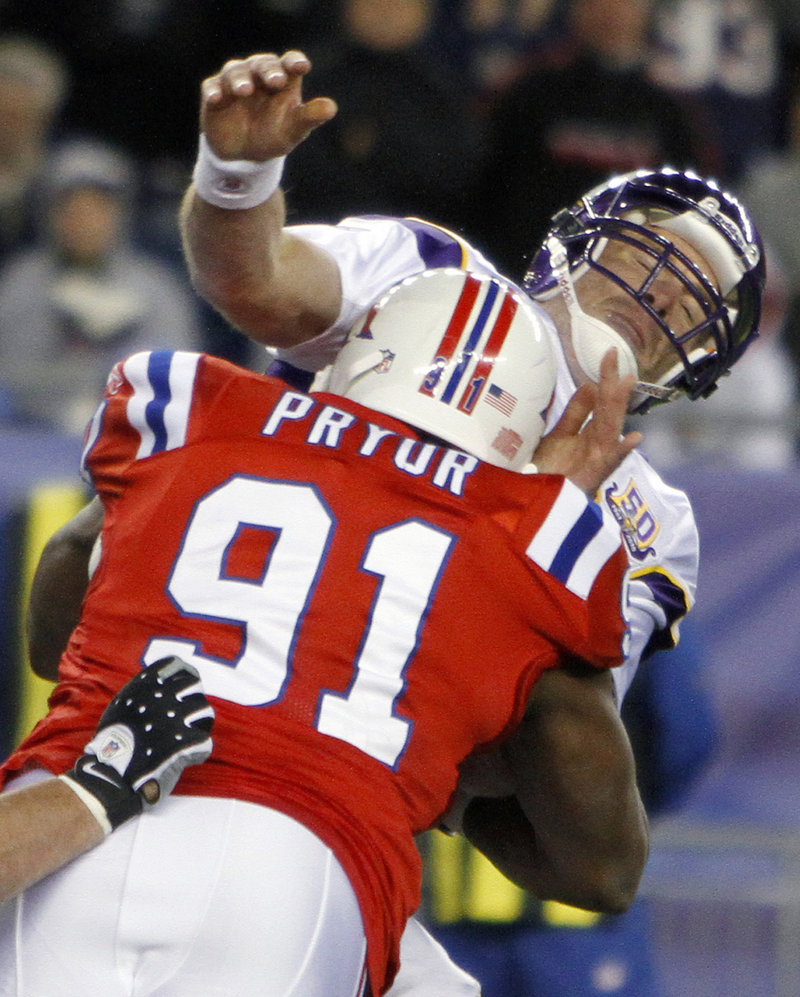 Knockout punch: Patriots 28, Vikings 18 - Portland Press Herald
