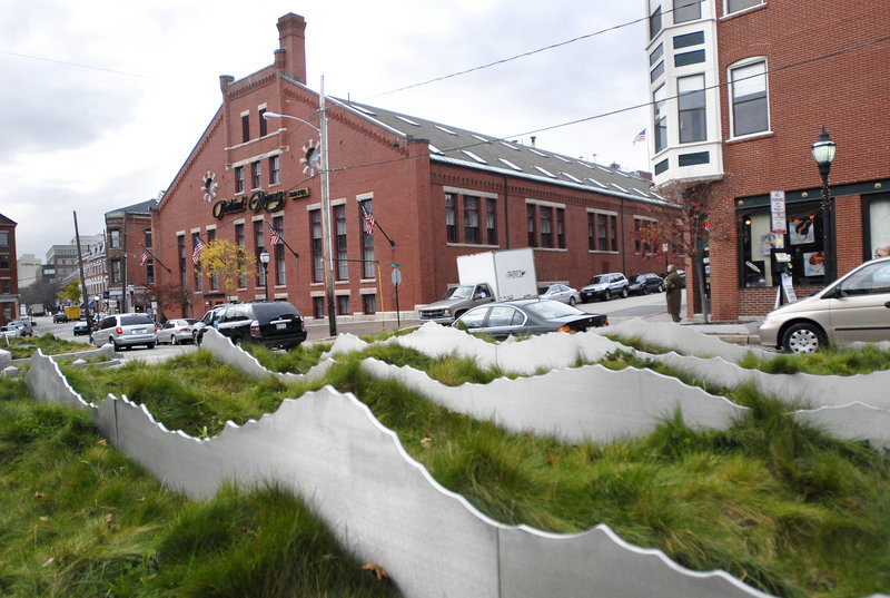 """The controversial """"Tracing the Fore"""" in Portland's Old Port"""
