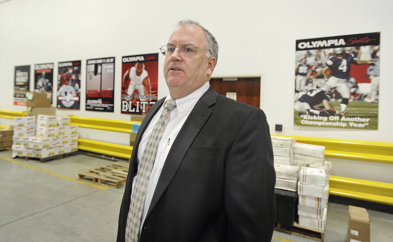 """""""If you have a young family with a bunch of athletes, we like to think we carry the stuff you are looking for,"""" said Olympia Sports President Dick Coffey."""