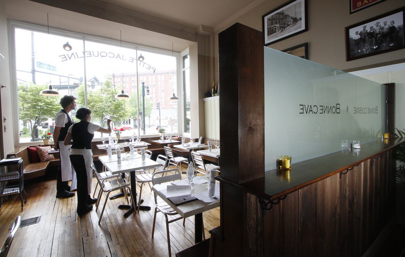 Petite Jacqueline, a new bistro, has been open since early March.