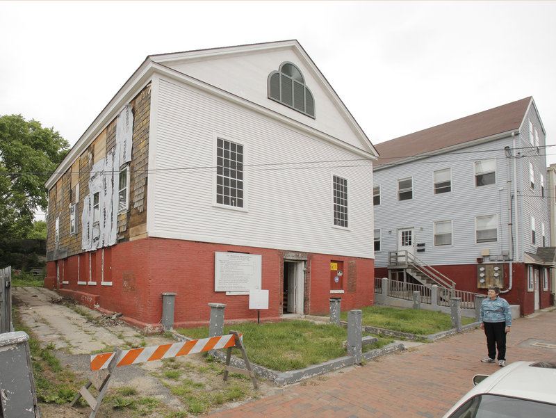 The Abyssinian Meeting House in Portland will continue its restoration process this summer.